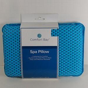 Comfort Bay Spa Pillow NWT